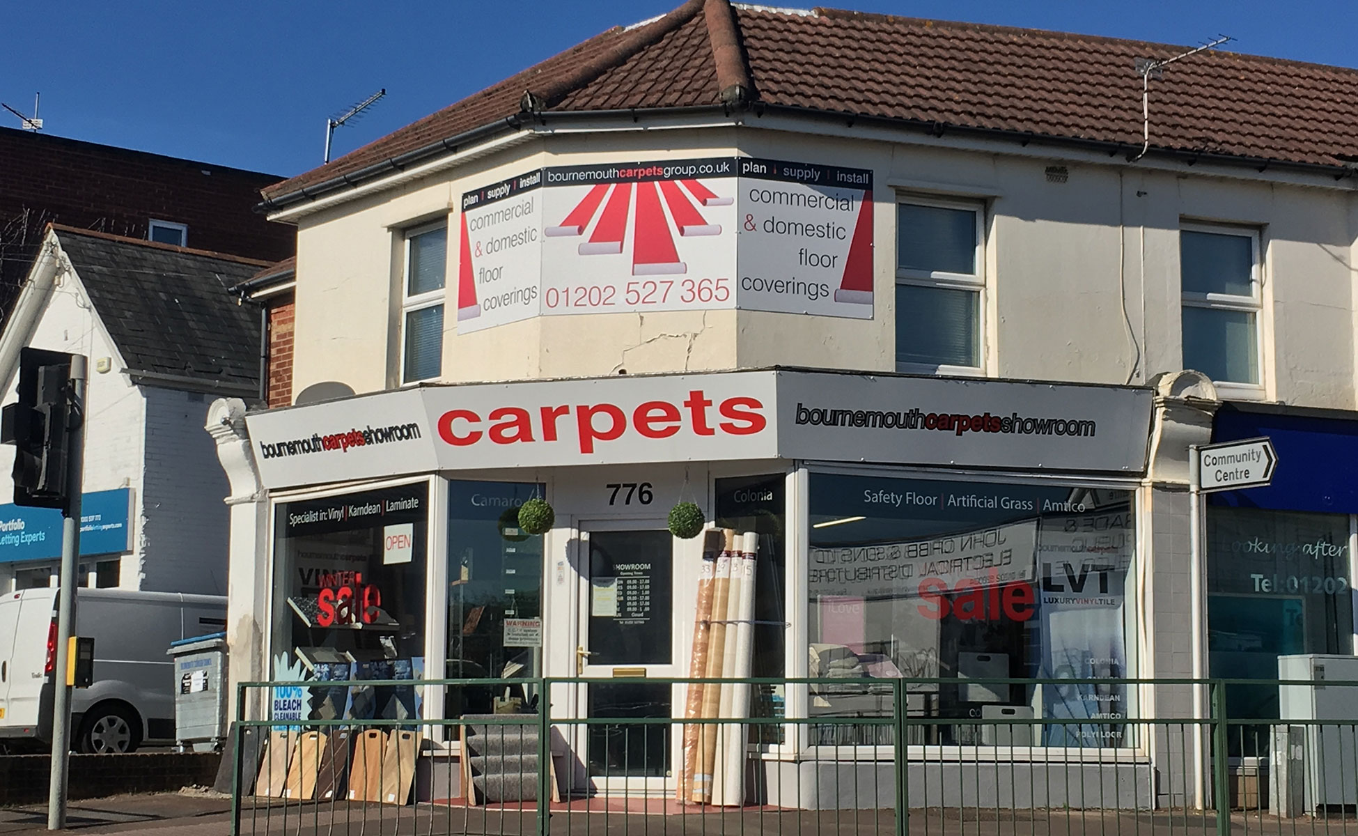 Bournemouth Carpets Showroom