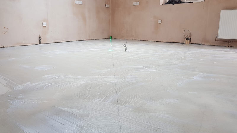 Floor Job During - Bournemouth Carpets