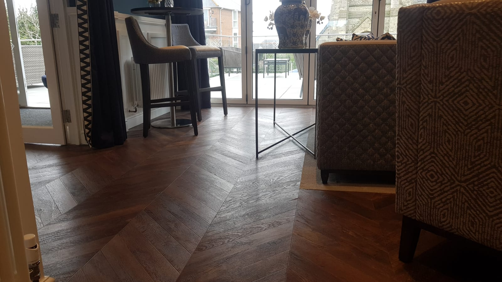 Luxury Vinyl Tile Flooring for Bournemouth Hotel by Bournemouth Carpets